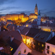 Cesky Kromlov, Czech Republic. - Stock Photo