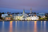 Reykjavik, Iceland. — Stock Photo