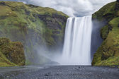 Skogafoss, Iceland. — Stock Photo