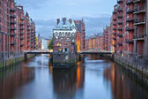 Hamburg, Germany. — Stock Photo