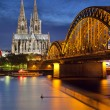 Cologne, Germany. — Stock Photo
