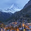 Zermatt and Matterhorn. — Stock Photo #34206013