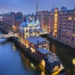 Hamburg- Speicherstadt. — Stock Photo