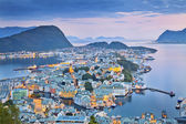 Alesund, Norway. — Stock Photo