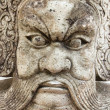 Statue face Chinese God — Stock Photo