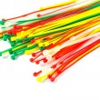 Multicolor Nylon Cable Ties — Stock Photo #32506021
