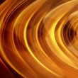 Gold curve motion blur — Stock Photo