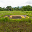 Stock Photo: Helipad on jungle