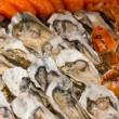 Buffet of seafood — Stock Photo