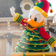 Stock Photo: DONALD DUCK - DEC 31: Celebrate Christmas New Year Festival on December 31, 2012 in Disneyland, Hong Kong