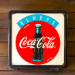 Classic light box coca-cola brand — Stock Photo #32930833