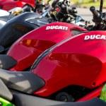 Постер, плакат: Closeup of Ducati Monster