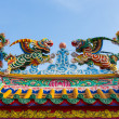 The art chinese style roof — Stock Photo