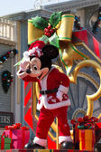 MICKEY MOUSE - DEC 31: Celebrate Christmas New Year Festival on December 31, 2012 in Disneyland, Hong Kong — Stock Photo