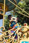 MICKEY MOUSE PARADE: Celebrate Christmas New Year Festival on December 31, 2012 in Disneyland, Hong Kong — Stock Photo
