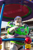 BUZZ LIGHTYEAR DISNEYLAND, HONG KONG: Celebrate Christmas New Year on December 31, 2012 in Disneyland, Hong Kong — Stock Photo