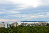 городской образ города паттайи — Стоковое фото