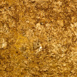 Texture of the gold leaf — Stock Photo
