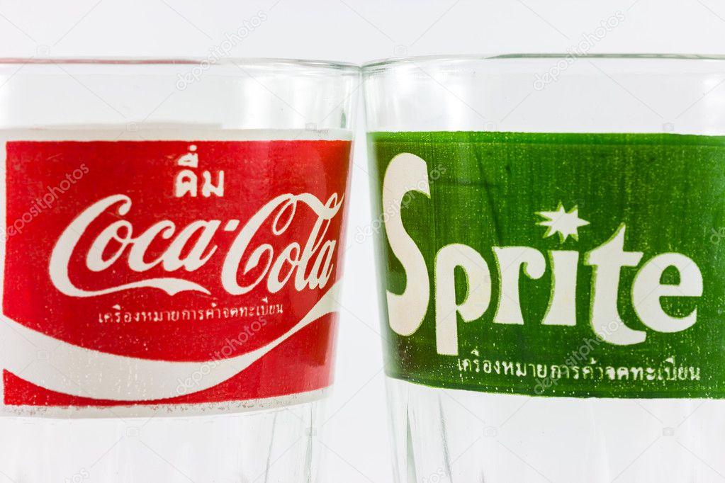 Coca Cola Classic Logo Bangkok Thailand December 10 2013 Coca Cola And Sprite Classic Logo on