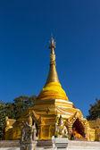 Pagoda of north thai style at waing haeng, Thailand — Foto de Stock