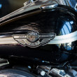 Fuel tank of motorcycle Harley-Davidson — Stock Photo #40660357