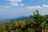 Landscape mountain view background at Doi Mae Taman Chiang Mai a — Stock Photo