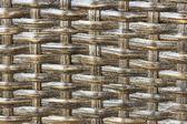 Texture weave of rattan closeup — 图库照片
