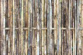 Bamboo wall texture and background — Foto Stock