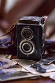 Old camera of 1950's — Stock Photo