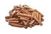 Group of cinnamon sticks — Stock Photo