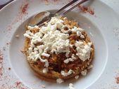 Traditional greek food Dakos — Stock Photo
