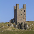 Dunstanburgh Castle Tower  — Stock Photo