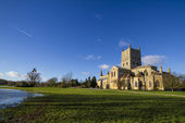 Tewkesbury Abbey — Stock Photo