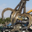 Close up of Crane grab in Scrapyard — Stock Photo #41389435