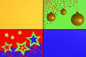 Звезды и шары — Стоковое фото