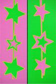 Gwiazda dwóch kolorów — Zdjęcie stockowe