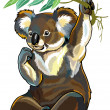 Koala bear  — Stockvectorbeeld