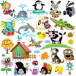 Stock Vector: Set for kids
