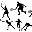 Tennis - Stock Vector