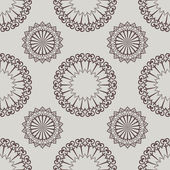 Seamless beige oriental vector pattern. — Vetorial Stock