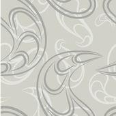 Seamless abstract modern vector pattern. — Stock Vector
