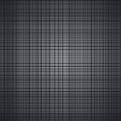 Dark brushed metal vector texture — Stock Vector