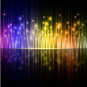 Colorful vertical stripes dark vector background. — 图库矢量图片