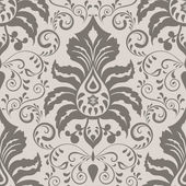 Seamless ornate vintage wallpaper pattern — Cтоковый вектор