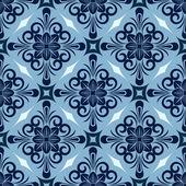 Sorunsuz kış mavi model — Stok Vektör