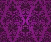 Sans couture violet abstrait ornement vecteur damiers. — Vecteur