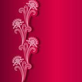 Abstracte bloem achtergrond — Stockvector