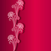 Sfondo fiore astratto — Vettoriale Stock