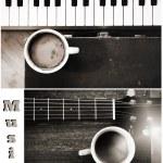 Постер, плакат: Music