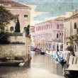 Venice, artwork in painting style — Stock Photo #26466263